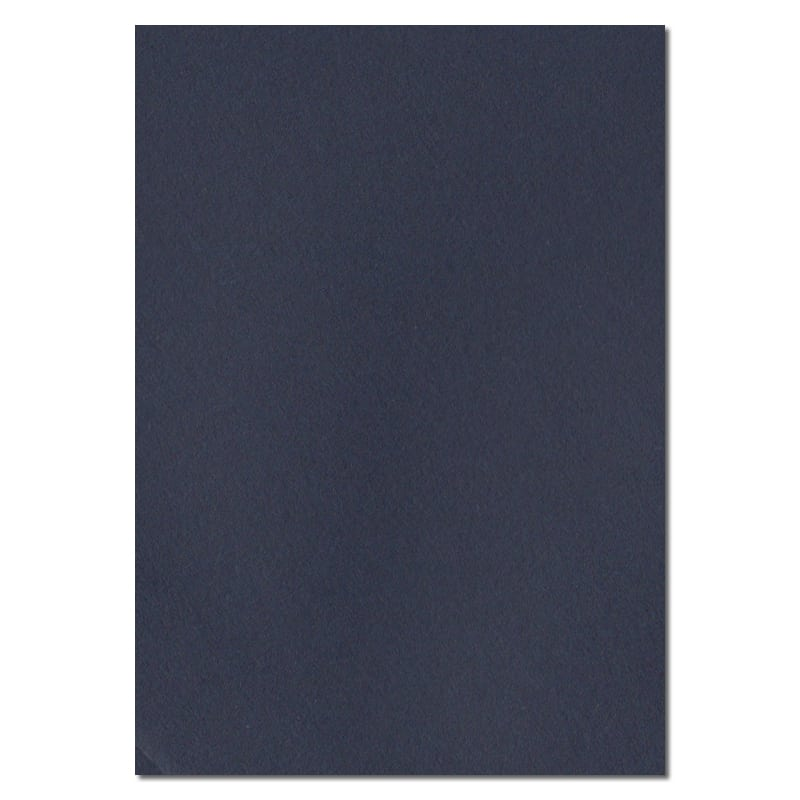 297mm x 210mm Navy Blue Solid Paper. A4 Sheet Size. 100gsm Blue Paper.
