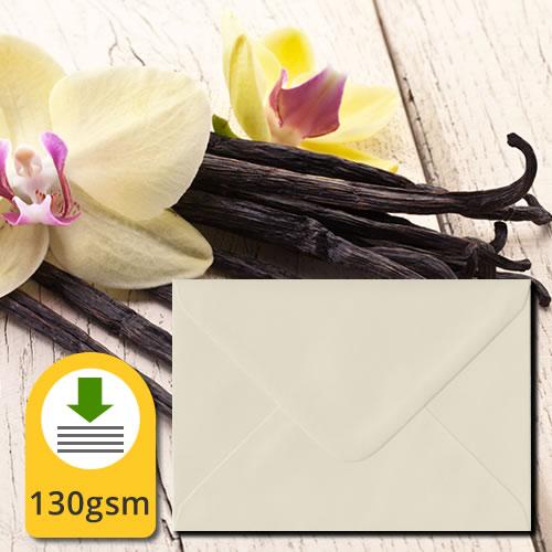 Vanilla 130gsm Luxury Envelopes