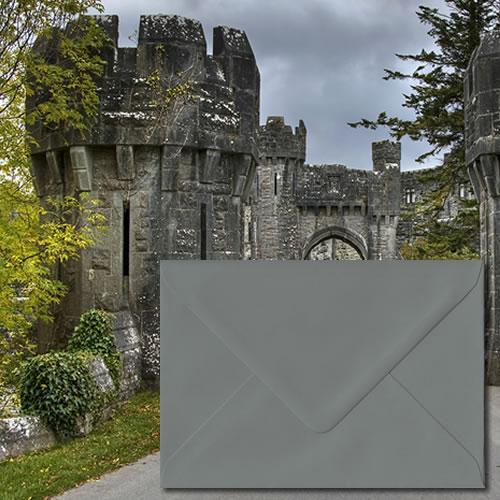 Vintage Grey Envelopes